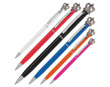 Kugelschreiber mit Krone