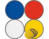 Faltbare Frisbee aus Polyester mit Etui