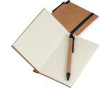 Kleines Notizbuch mit umweltfreundlichem Umschlag